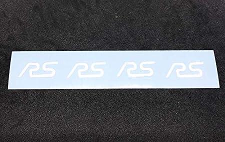 Jackplott Focus Rs Mk3 Gel Embleme Inlays Felgen Logos Weiß Auto