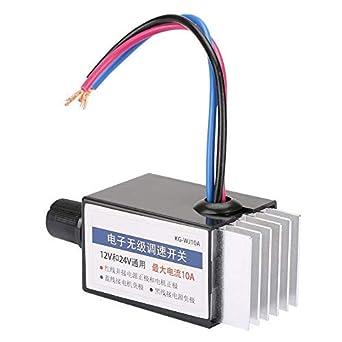 Motor Speed Controller Switch Truck Fan Heater Control Defroster DC 12V 24V