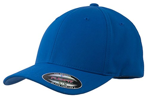 (Sport-Tek Men's Flexfit Performance Solid Cap XS True Royal)