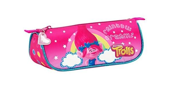 Trolls Estuche portatodo Triangular (SAFTA 811759224), Color, 20 cm: Amazon.es: Juguetes y juegos