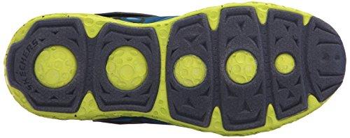 Cosmic Kids' Portal Navy Foam Sneaker Skechers Kids Lime x wRqxEgqT5