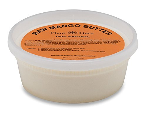 (Raw Mango Butter 8 oz 100% Pure Natural For Skin, Face, Hair Care)