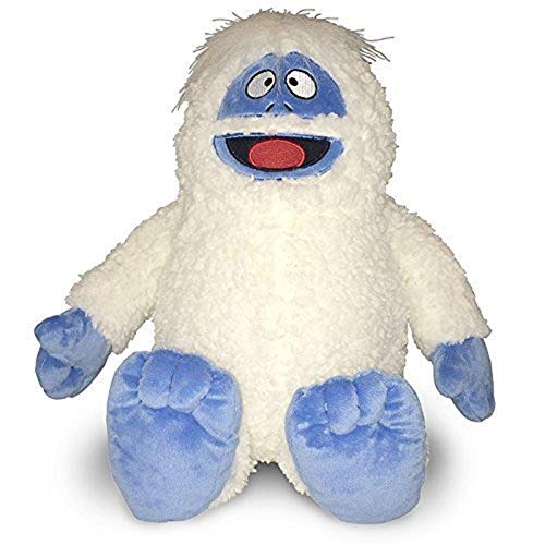 Rudolph Bumble the Abominable Snowman Plush, 12 inches Long (Snowman Large Stuffed)