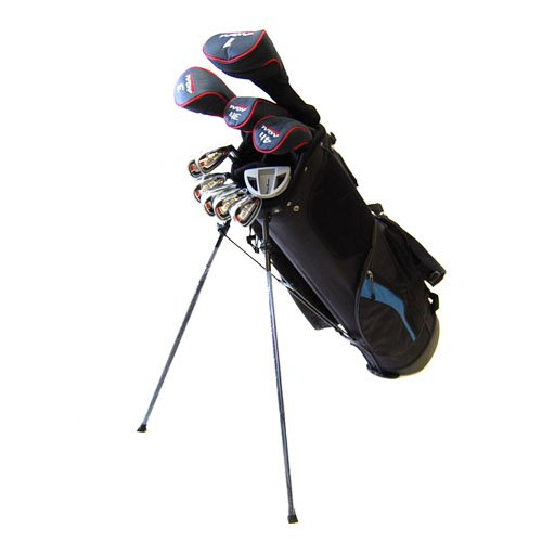 New-Tommy-Armour-Mens-AXIAL-16-Piece-Complete-Golf-Set-Stand-Bag-RIGHT-HANDED