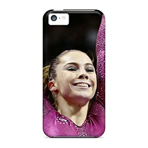 GoldenArea Awesome Case Cover Compatible With Iphone 5c - Gymnastics Olympics 2012 Mckayla Maroney