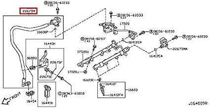 amazon.com: infiniti 22675-am60b, fuel injection pressure damper ...  amazon.com