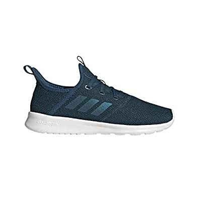 adidas Women's Cloudfoam Pure Track and Field Shoe, Tech Mineral/Active Teal/Cloud White, 5 Standard US Width US