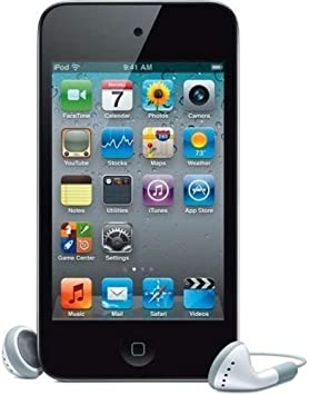 Amazon.com: Black For Apple iPod touch 8GB (4th Generation) With ...