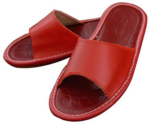 Pantofole Da Donna Destate Blues In Pelle Morbida E Calda