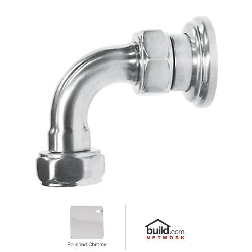 Rohl U.6390 Perrin and Rowe Return Elbow, Polished (Rohl Return Elbow)