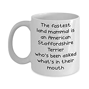 American Staffordshire Terrier Mugs - White 11oz 15oz Ceramic Tea Coffee Cup - Perfect For Travel And Gifts 25