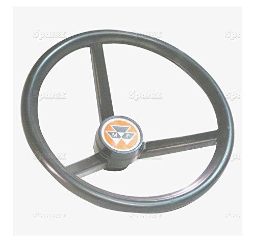 Hydrostatic Steering (Sparex, S.66804 Steering Wheel, Hydrostatic For Massey Ferguson 300 Series 360, 362, 375, 383, 390, 393, 396, 398, 399390T)