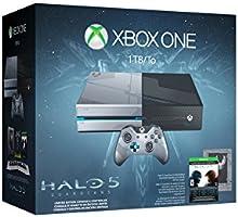 Consola Xbox One, Edición Limitada, 1 TB + Halo 5: Guardians - Special Limited Edition