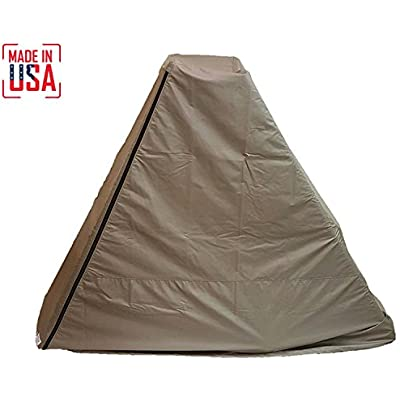 THE BEST Elliptical Machine Cover   Front Drive. Durable & Water-Resistant Fitness Equipment Protective Cover Ideal for Indoor or Outdoor Use. Made in USA with 3-Year Warranty.