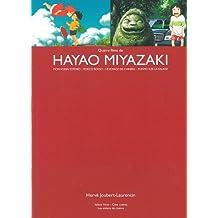 Quatre films de Hayao Miyazaki : Mon voisin Totoro - Porco Rosso - Le voyage de Chihiro - Ponyo sur la falaise