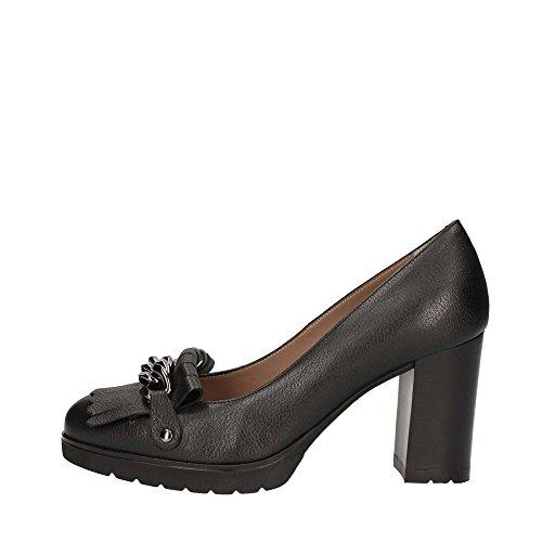 De Tacón L5226 Mujer Melluso Negro Zapatos qSZw8pE