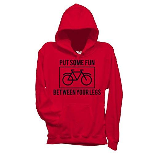 Sweatshirt Bike Lovers Put Some Fun Between Your Legs - MUSH by Mush Dress Your Style