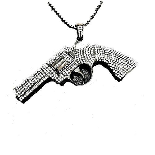7cfbb19d0a2b MCSAYS Hip Hop Jewelry - Colgante de cristal