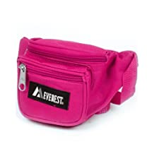 Everest Unisex Extra Small Fanny Waist Pack, Hot Pink