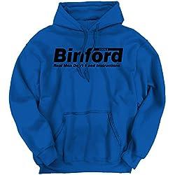 Binford Home Improvement Tim Allen Toolman TV Show Novelty Hoodie Sweatshirt