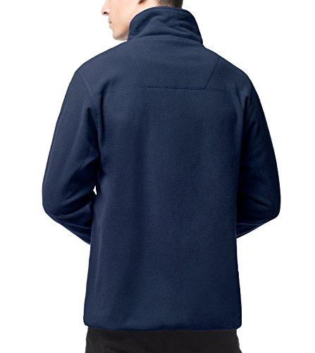 Confortable Et Chaud Zippé De Veste Lapasa Pull Sport Polaire Bleu M33 Navy Voyage Hiver Homme Montagne Randonnée Doux Marine nqBHqA6xwS