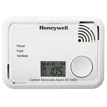 Honeywell XC100D - Alarma de monóxido de carbono: Amazon.es: Bricolaje y herramientas
