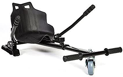 Kart para hoverboard silla asiento hoverseat patinete electrico hoverkart color negro patines desde 6,5