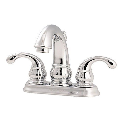 Pfister LF048DC00 Treviso 2-Handle 4 Inch Centerset Bathroom Faucet in Polished Chrome, Water-Efficient Model