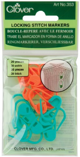 Clover 353 Lock Ring Markers (Satchel Clover)