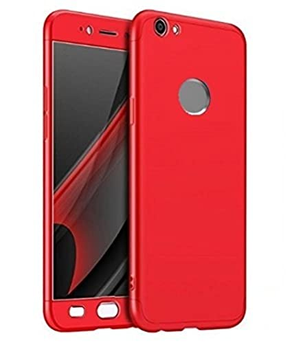 buy popular f7ea6 9c8c2 Mobile World Full Front and Back 360 Protective Body Cover for Redmi Mi Y1  (Red)