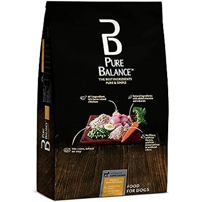 Pure Balance Chicken & Brown Rice Recipe Dry Dog Food, 30 lbs (30 lbs - 1Pack)