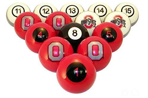 Ohio State Buckeyes Billiard Balls Ohio State Pool Balls