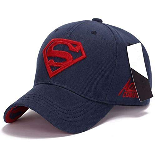 Men Women Unisex Snapback Adjustable Fit Baseball Cap Superman Hip-hop Stretch ()