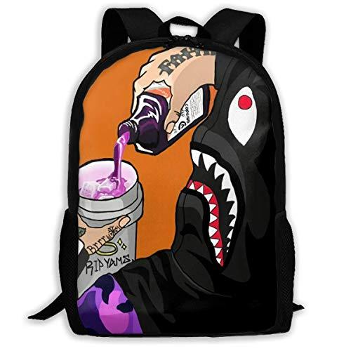 Ba-pe Youth Adult Backpack Shoulder Bag School Bag Bookbag for Hiking Traveling School