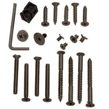 CRL PR90 Series Duranodic Bronze Finish Screw Pack Assortment - Package