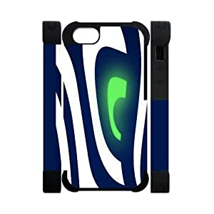 Abstract Seattle Seahawks Eye Case For Samsung Galaxy S3 i9300 Cover Cell Phone Cases Cover(Dual protective)