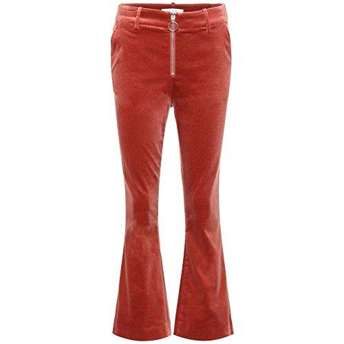 ずるいファセット同化(フレーム) Frame レディース ボトムス?パンツ クロップド Velvet cropped trousers [並行輸入品]