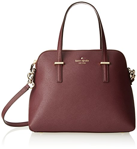 kate spade new york Cedar Street Maise Cross Body Bag, Mulled Wine, One Size by Kate Spade New York