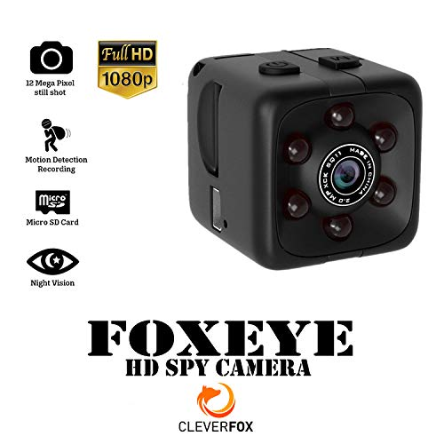 Hidden Security Camera | Smart 1080p Mini Spy Cube Camera Recorder with Audio | HD | Night Vision and Motion Detection for Home Surveillance, Nanny Cam, Car, Office, Drone, Outdoor, Body Camcorder