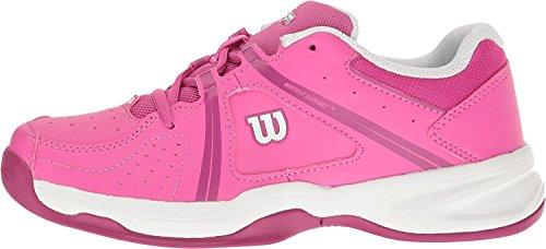 Pictures of Wilson Envy Jr Tennis Shoe - Rose/Violet/White 6.5 M US 4