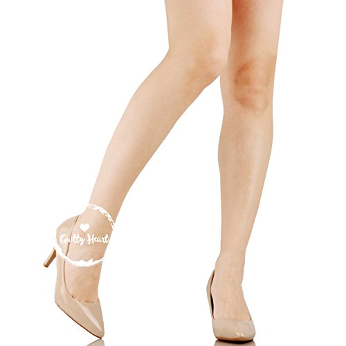 Guilty Toe Low Dress 16 Classic Closed beige1 On patent Heel Kitten Womens Shoes Pointy Slip Pump BSXBqR1wr