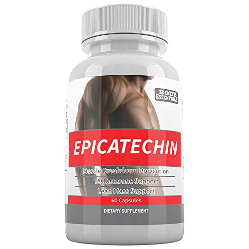 EPICATECHIN - 60 Capsules - 300mg Per Serving by Body Essentials - Maximize Muscle Growth - Increase Protein Synthesis, Gains, Lean Muscle - Increase Strength and Decrease Body Fat