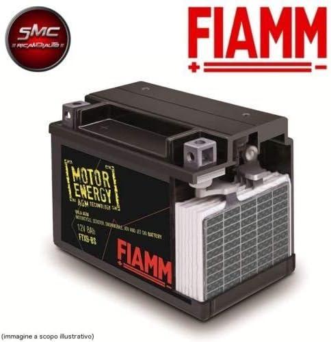 Fiamm Batterie Für Motorrad Ftx12 Bs 12 V 10 Ah Mit Flüssigkeit Entspricht Yuasa Ytx12 Bs Auto