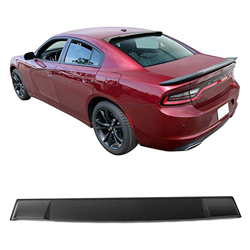(Rear Roof Spoiler Fits 11-18 Dodge Charger Ikon Style Unpainted PP by IKON MOTORSPRTS )