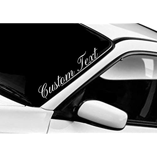 Windshield Banner Sports Car