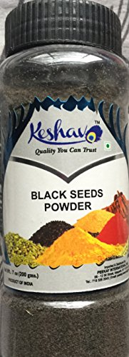 Black Seeds Ground Nigella Sativa 200 Grams (Jar) Food Grade Or Kalwanji Seeds Powder Or Black Cumin Seeds Powder Or Kalonji 200 Grams Miracle Seeds Promotional Price For Limited Time - Goggles Online Purchase
