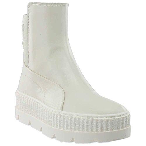 PUMA Women's Fenty x Chelsea Sneaker Boots, Vanilla, 7.5 M US