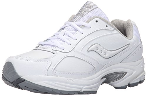 Saucony Women's Grid Omni Walker-W White/Silver