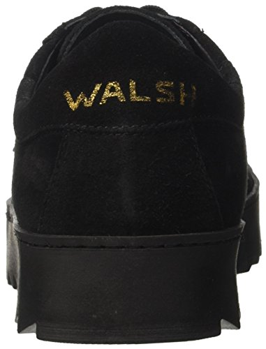 Vripple Black Walsh Sneakers Wrapper Nero Sole Suede Uomo Zd4Bqwd