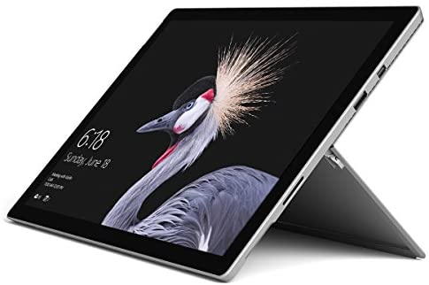 "Microsoft Surface Pro FJR-00001 Laptop (Windows 10 Pro, Intel Core M, 12.3"" LCD Screen, Storage: 128 GB, RAM: 4 GB) Black"